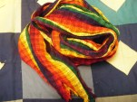 Rainbow scarf - 50x11