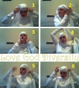 Mummy Hijab Tutorial