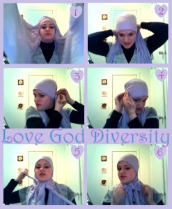Gift Hijab tutorial
