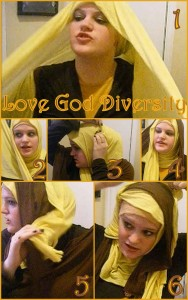 SPlit Hijab Tutorial