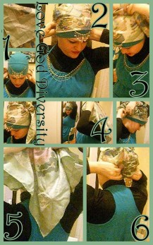 Crown Hijab Tutorial