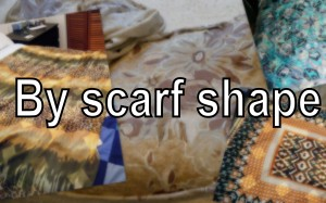 By scarf
